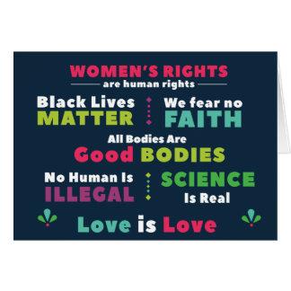 Solidarity Note Card