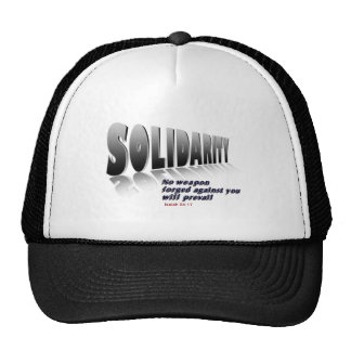 Solidarity W Mesh Hats