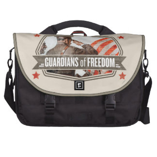 Solider-Guardian of Freedom Laptop Computer Bag
