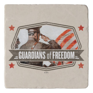 Solider-Guardian of Freedom Trivets