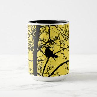 Solitary Crow Combo Mug