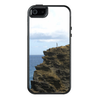 Solitary Figure on a Cliff OtterBox iPhone 5/5s/SE Case
