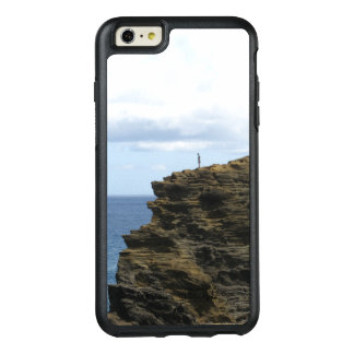 Solitary Figure on a Cliff OtterBox iPhone 6/6s Plus Case