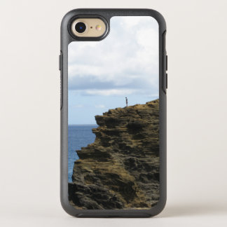 Solitary Figure on a Cliff OtterBox Symmetry iPhone 8/7 Case