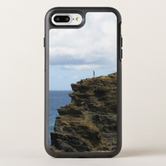 Solitary Figure on a Cliff OtterBox Symmetry iPhone 8 Plus/7 Plus Case