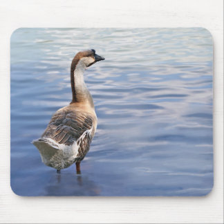 Solitary Goose Mousepad