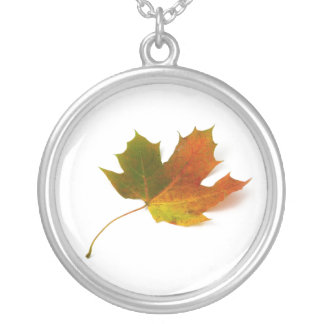 Solitary Maple Leaf Necklace