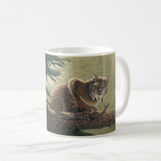 """Solitary Moment"" Lynx - Coffee Mug"