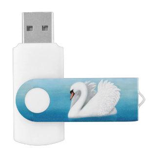 Solitary Mute Swan 64GB USB Flash Drive