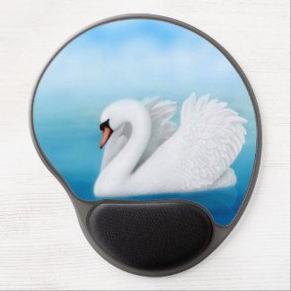 Solitary Mute Swan Gel Mousepad