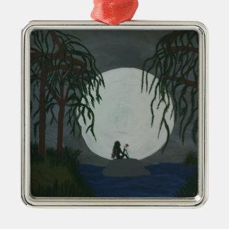Solitude Art Print Metal Ornament