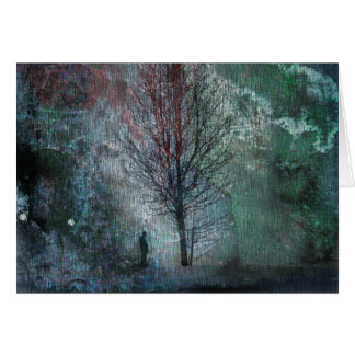 Solitude - Blank Greeting Card