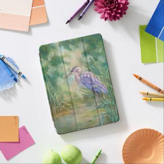 """Solitude"" - Blue Heron Pastel Painting iPad Air Cover"