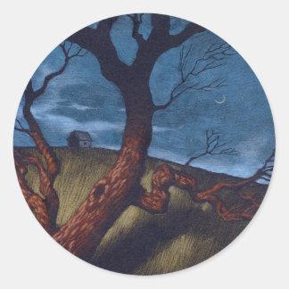 Solitude Classic Round Sticker