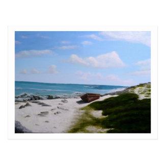 Solitude in Cancun Postcard