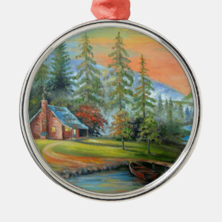 Solitude Metal Ornament