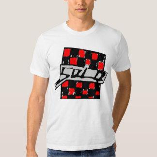 Solo Checkerd T Shirt