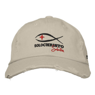 """Solo Christo """"Salvation Series"""" Embroidered Hat"""