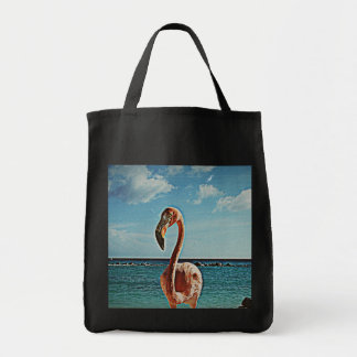 Solo flamingo vintage photo HFPHOT71 Tote Bag