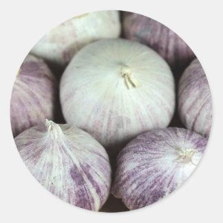 Solo Garlic Classic Round Sticker