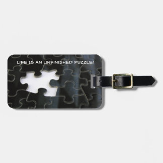 Solo Missing Puzzle Piece Photograph Luggage Tag