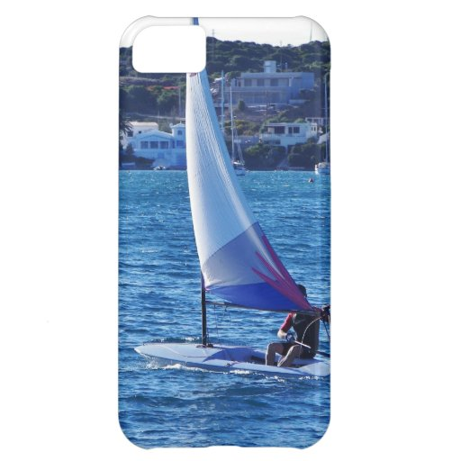 Solo Sailing Dinghy iPhone 5C Cover