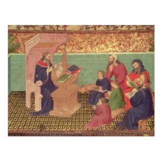 Solomon dictates the Proverbs Postcard