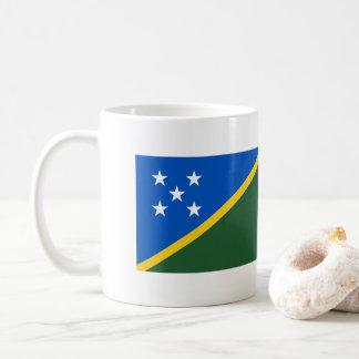 Solomon Islands Flag Coffee Mug