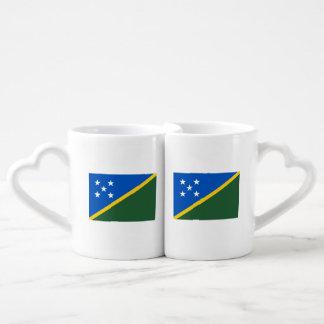 Solomon Islands Flag Coffee Mug Set
