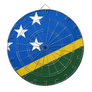 Solomon Islands Flag Dartboard