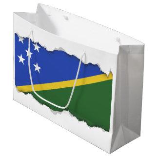 Solomon Islands flag Large Gift Bag