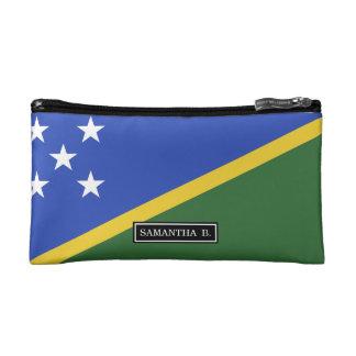 Solomon Islands flag Makeup Bag
