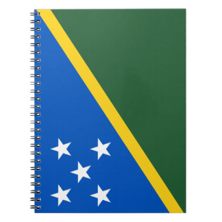 Solomon Islands Flag Notebook