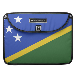 Solomon Islands flag Sleeves For MacBooks
