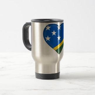 Solomon Islands Flag Travel Mug