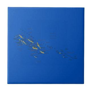 Solomon Islands Map Tile