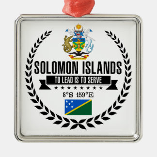 Solomon Islands Metal Ornament