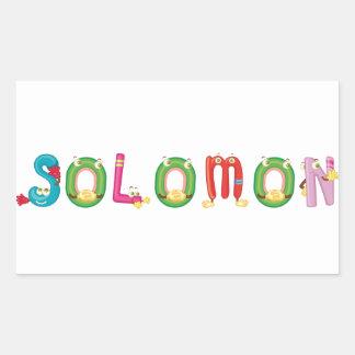 Solomon Sticker