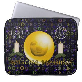 Solstice Blessings Laptop Sleeve