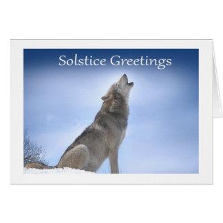 Solstice Greetings Greeting Card