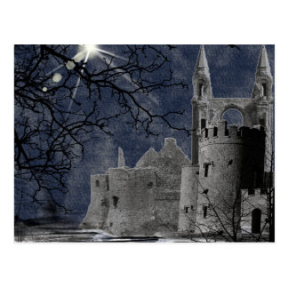 Solstice Night Gothic Landscape Post Card