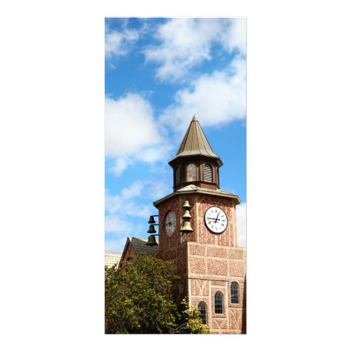 Solvang Bell Tower Personalized Rack Card