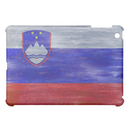 Solvenia distressed Solvenian flag iPad Mini Cases