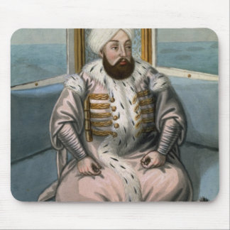 Solyman II (1642-91) Sultan 1687-91, from 'A Serie Mouse Pad