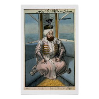 Solyman II (1642-91) Sultan 1687-91, from 'A Serie Print