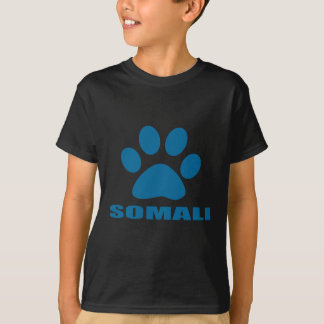 SOMALI CAT DESIGNS T-Shirt