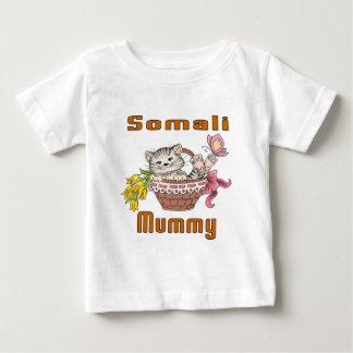 Somali Cat Mom Baby T-Shirt