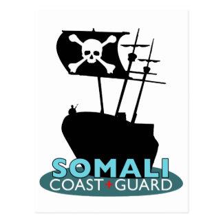 Somali Coast Guard Postcard