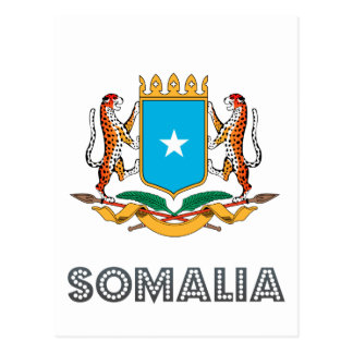 Somali Emblem Postcard