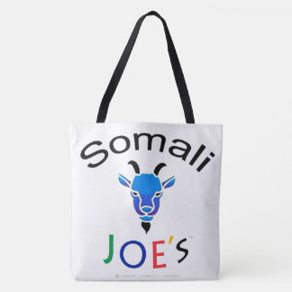 Somali Joe's Billy Blue Goat Men's Tote Bag